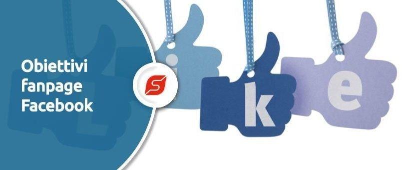 obiettivi fanpage facebook