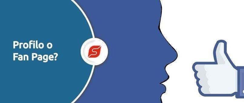 profilo vs fanpage facebook