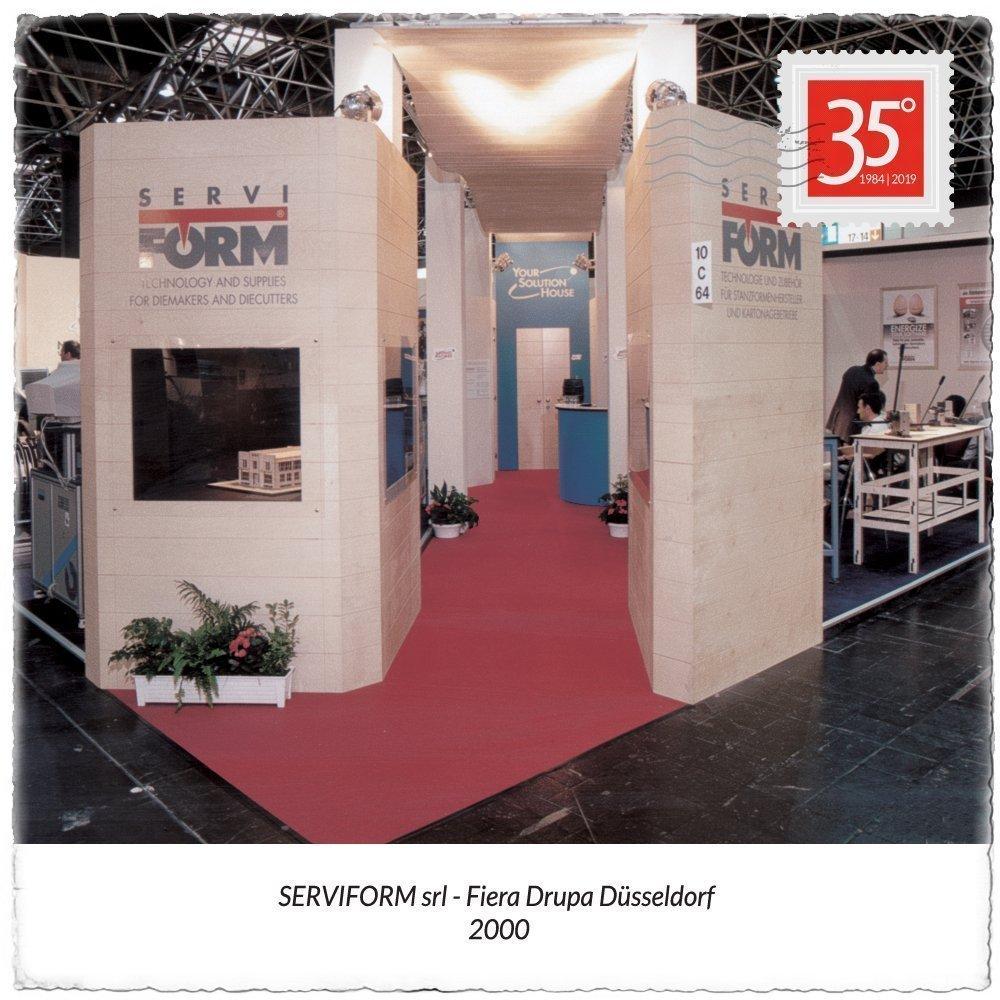 2000 Serviform stand fiera