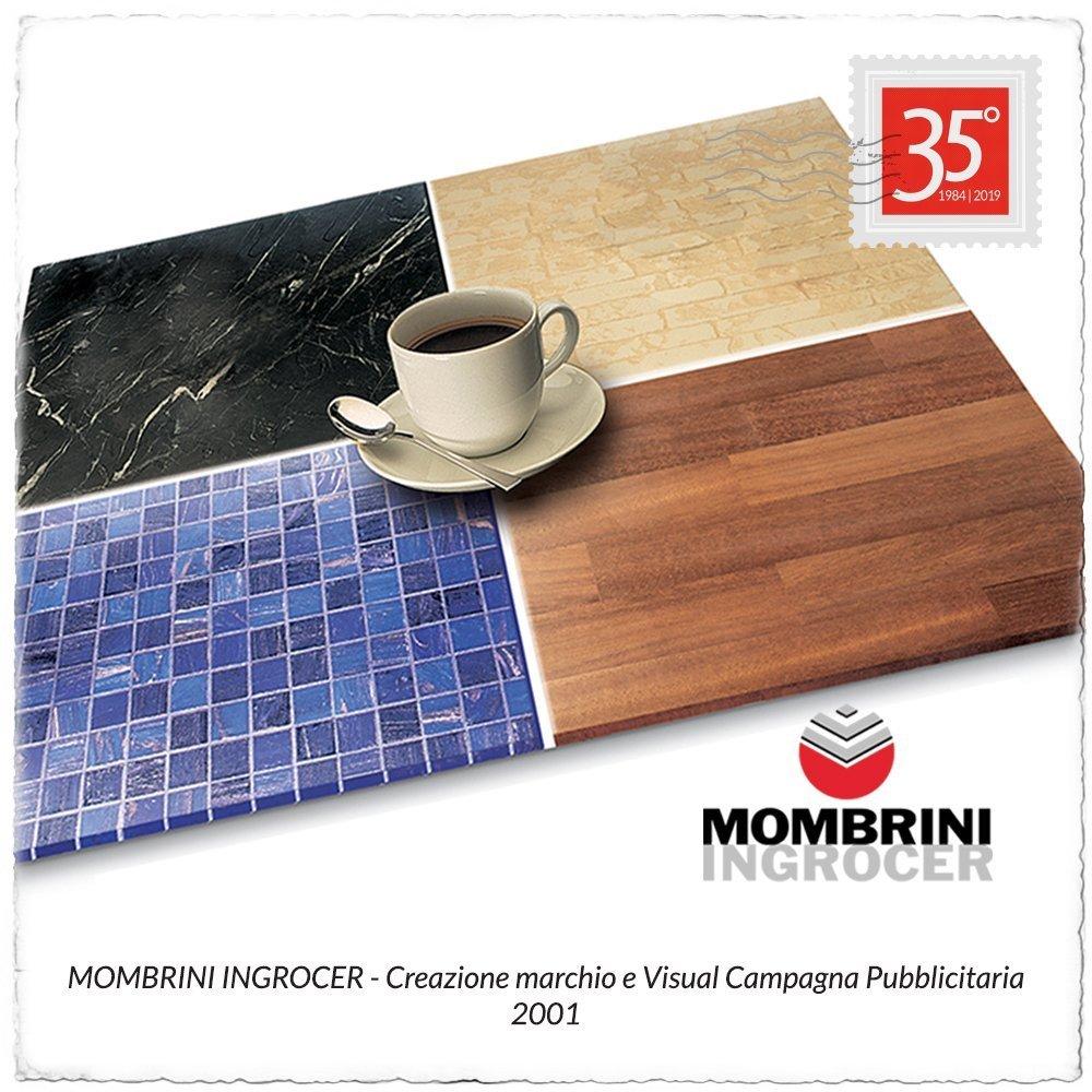 2001 Marchio e Visual Mombrini Ingrocer
