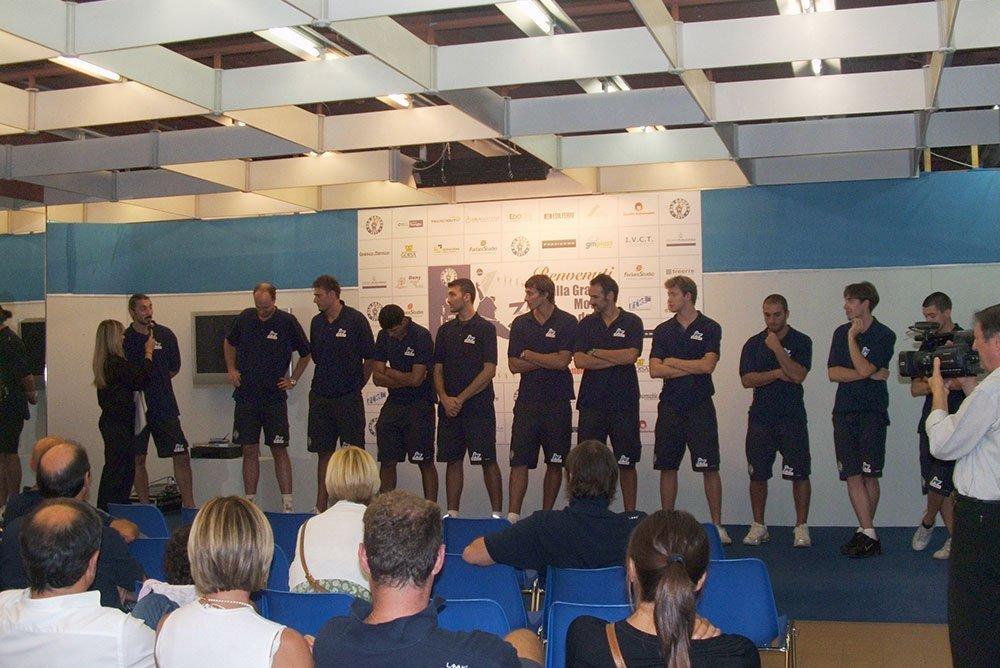 Blu Basket – Mostra 35° – Presentazione della Squadra (2007)
