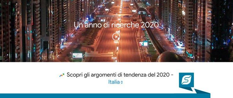 Google trend 2020 | Forlani Studio